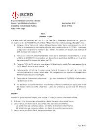 PDF) Test I Contb Publica 2018 | Ali Domingos - Academia.edu