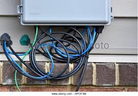 cable box stock photos & cable box stock images alamy activate spectrum cable box at Cable Box Wiring
