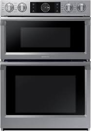samsung 30 microwave combination wall oven with flex duo silver nq70m7770ds best