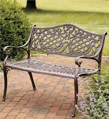 aluminum garden bench. Modren Aluminum Aluminum Outdoor Bench Gallery On Garden T