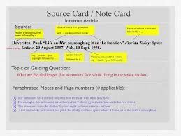 How to Write a Note Card for a Research Paper   YouTube SAMPLE NOTE CARDS     for research assignment on Chocolate  card  jpg