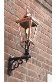 copper victorian wall light