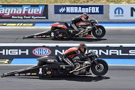 hines and krawiec prepare harley screamin eagle pro stock drag