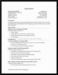 Objective Resume Objective Examples For Students