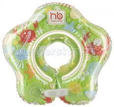<b>Круг</b> для купания Happy <b>Baby Swimmer надувной</b> на шею Крабик ...