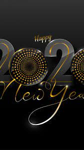 Download 1080x1920 Happy New Year 2020 ...