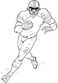 Small Picture Printable Pictures Of Football Players Coloring Coloring Pages