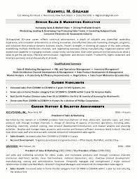 Cv For Marketing Manager Cv For Marketing Manager Sample Resume