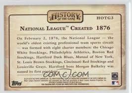 「1876 National League established」の画像検索結果