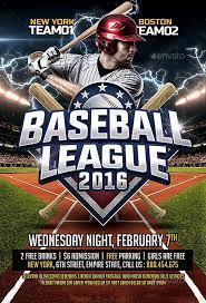 Baseball Brochure Template Free Baseball Flyer Template Magdalene Project Org