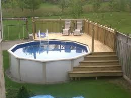 decks around above ground pools fresh 25 best ideas about ground pool decks