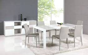 white modern dining table set dining room modern gray and white dining table design with minimalist