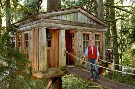 Tree House Builder TV Show Host Fined For Oregon Coast Construc Treehouse Builder Pete Nelson