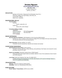 Education Sample Resumes Sample Resume High School Student No Job Experience For Jobs First