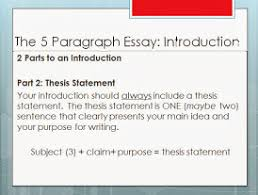 persuasive essay topics high school students english essays  seventh grade lesson the thesis statement betterlesson its a road map that lets the reader know where the writer is taking them if the writer clearly states