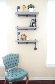 diy industrial shelves industrial concrete and pipe shelves diy steel garage shelves