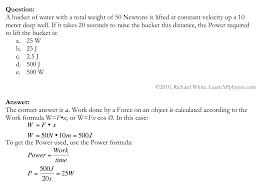 learn ap physics physics c work and energy solution