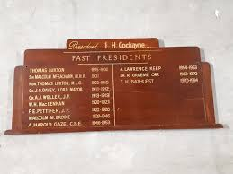 Image - Braille Library Presidents board - Victorian Collections
