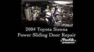 2004 toyota sienna power sliding door repair