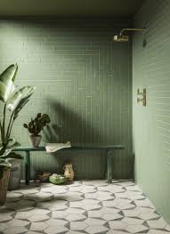 go green green tile trends for your