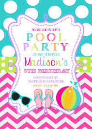 pool party invitations com pool party invitations and the design of the party invitation templates cool design 9