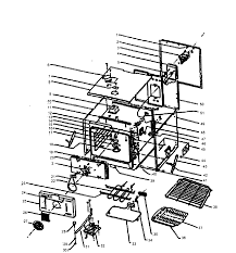 w305 oven oven assy parts diagram