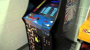 Ms Pacman Cabinet Namco 20 Year Reunion Arcade Cabinet Review Ms Pac Man Galaga