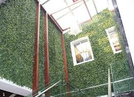 artificial plant hedges for green wall exterior wall decor