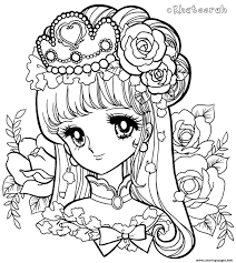 Glitter Force Queen Coloring Pages Printable