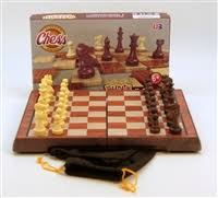 105 Magnetic Wooden Travel Chess Game Magnetic Folding Chess Set 44