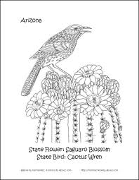 Small Picture Arizona Wordsearch Crossword Puzzle and More Arizona State Bird