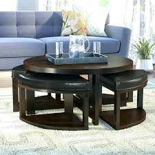 awesome round coffee table with seats coffee table with seats underneath round coffee table with bench