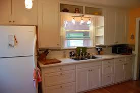 refaced 3 8 lip overlay kitchen cabinet