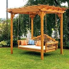 outdoor swings for s with canopy