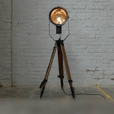 Industriele Lamp Driepoot