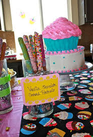Cupcake Decorating Party Birthday Party Ideas Photo 2 Of 11