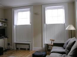 available in many colours and finishes these shutters are not provided with any furniture apart from the hinge so you would need to discuss or source a