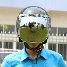 3 snap bubble wind shield visor for