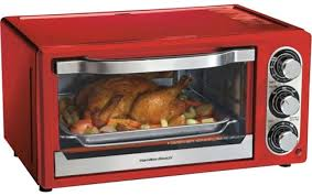 hamilton beach countertop oven easy reach convection toaster 6 slice stainless steel