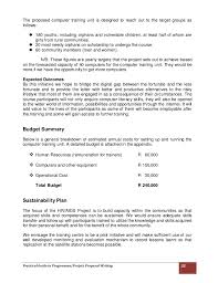 Formal Proposal Example Best Practical Guide To ProgrammeProject Proposal Writing