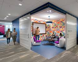 silicon valley office.  Office Throughout Silicon Valley Cashrich Technology Firms Are Building Bold  Futuristic Headquarters That Convey Their Brands To Employees And Customers And Valley Office N