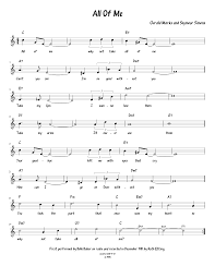Sign up now or log in to get the full version for the best price online. all of me by john legend. All Of Me Sheet Music For Oboe Solo Musescore Com