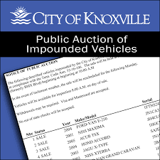 vehicle auctions city of knoxville