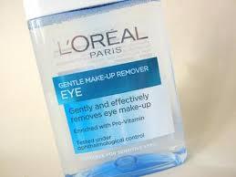 lagi lagi bahagian mata dengan eyelinernya tapi dengan l oreal dermo expertise gentle lip eye makeup remover makeup bahagian mata