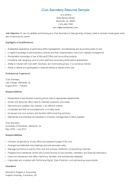 Secretary Resume Sample professional secretary templates to showcase your talent school 61