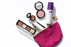 makeup bag beauty essentials