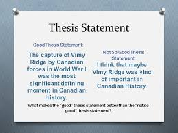 topic opinion thesis statement ppt 3 good