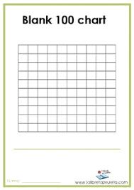 Blank 100 Chart Worksheet Teachers Pay Teachers