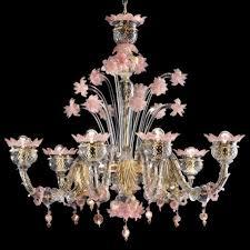 sissi 6 lights murano chandelier