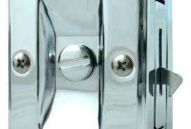 sliding door latch lock pocket door locking hardware image of pocket door locks type ace hardware